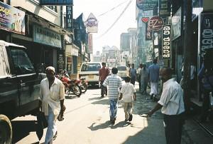 Main Street in Ratnapura